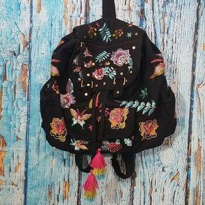 Stone Mountain Boho Embroidered Backpack